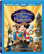 Muckey, Donald, Goofy The Three Musketeers: 10th Anniversary Edition