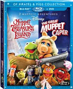 THE GREAT MUPPET CAPER & MUPPET TREASURE ISLAND – 2 MOVIE COLLECTION