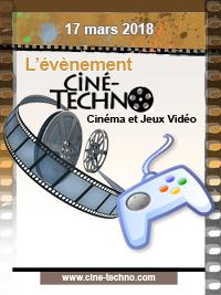 Événement CIne-techno - Cinéma et Jeux Video (5e édition)