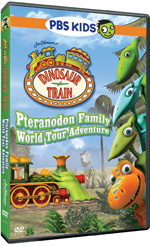 Dinosaur Train Pteranodon Family World Tour Adventure