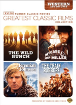TCM GREATEST CLASSIC FILMS : WESTERN ADVENTURES (JEREMIAH JOHNSON / TRAIN ROBBERS / WILD BUNCH / MCC