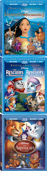 Pocahontas | The Rescuers | The Aristocats
