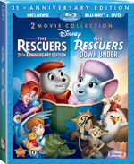 The Rescuers: 35th Anniversary Edition / The Rescuers: Down Under