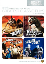 TCM Greatest Classic films : Sci-fi Adventures
