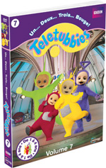 Teletubbies, 1,2,3 bouge! Volume 7