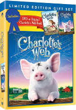 Charlotte's Web (2006) - Gift Set with Book en format Blu-ray dès le 10 octobre 2017