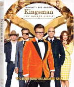 Présentation (unboxing) Kingsman: The Golden Circle (Kingsman : Le cercle d'or) en combo Blu-ray/DVD