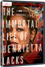 Présentation (unboxing) du film The Immortal Life of Henrietta Lacks en format Blu-ray