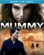 Présentation (unboxing) du film The Mummy (La Momie) en combo Blu-ray/DVD
