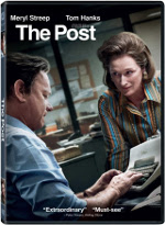 The Post (Le Post) en format DVD et Blu-ray dès le 17 avril 2018